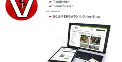 Equipergato® Produkte erhält man in Tierkliniken, Tierarztpraxen und im Equipergato-Onlineshop