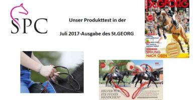 Reitbommel® Produkttest in der Juli-2017-Ausgabe des St.GEORG