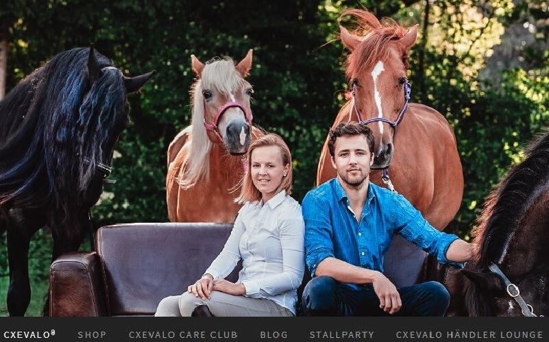 Das Cxevalo ® Team aus Salzburg.