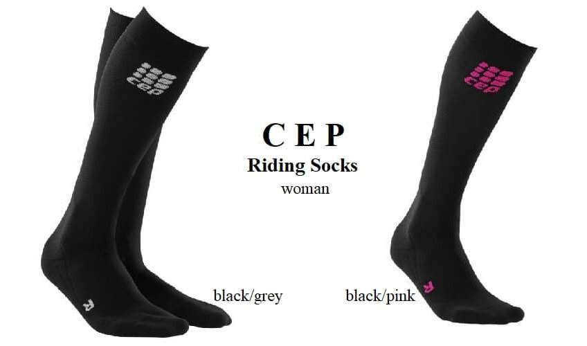 CEP - Riding Compression Socks woman