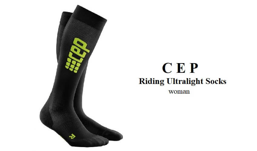 CEP - Riding Ultralight Compression Socks woman