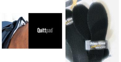 Quittpad ® Sohlen für Reiterfüße