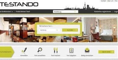 Testando - die Plattform für Gastronomie- u. Hoteltests