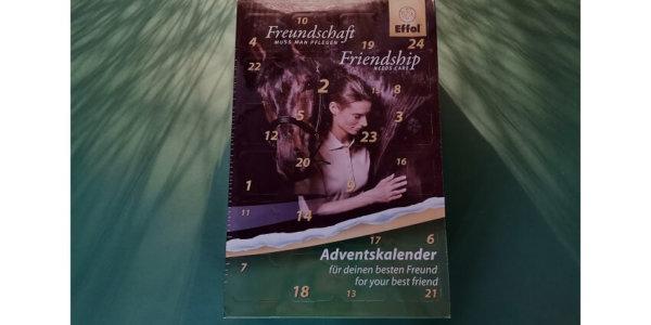 EFFOL®Adventskalender für Pferd + Reiter sucht Türsteher!