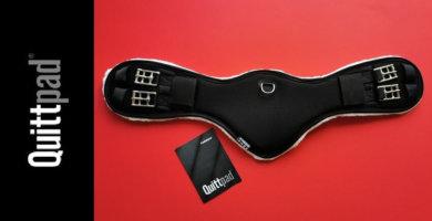 Quittpad ® Sattelgurt mit Brustbeinschutz
