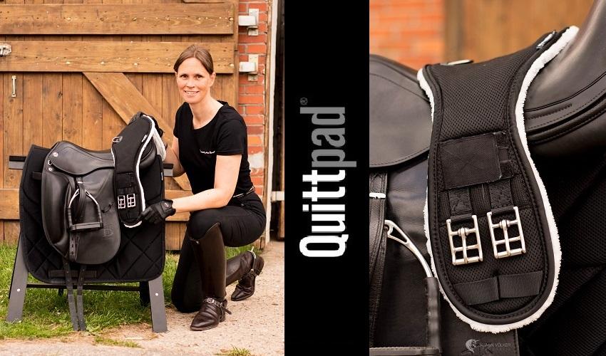 Quittpad ® Sattelgurt Dressur Brustbeinschutz